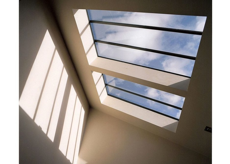 The Conservation Rooflight has slim clean lines, a low profile to match the roofline and linking bars for every size.