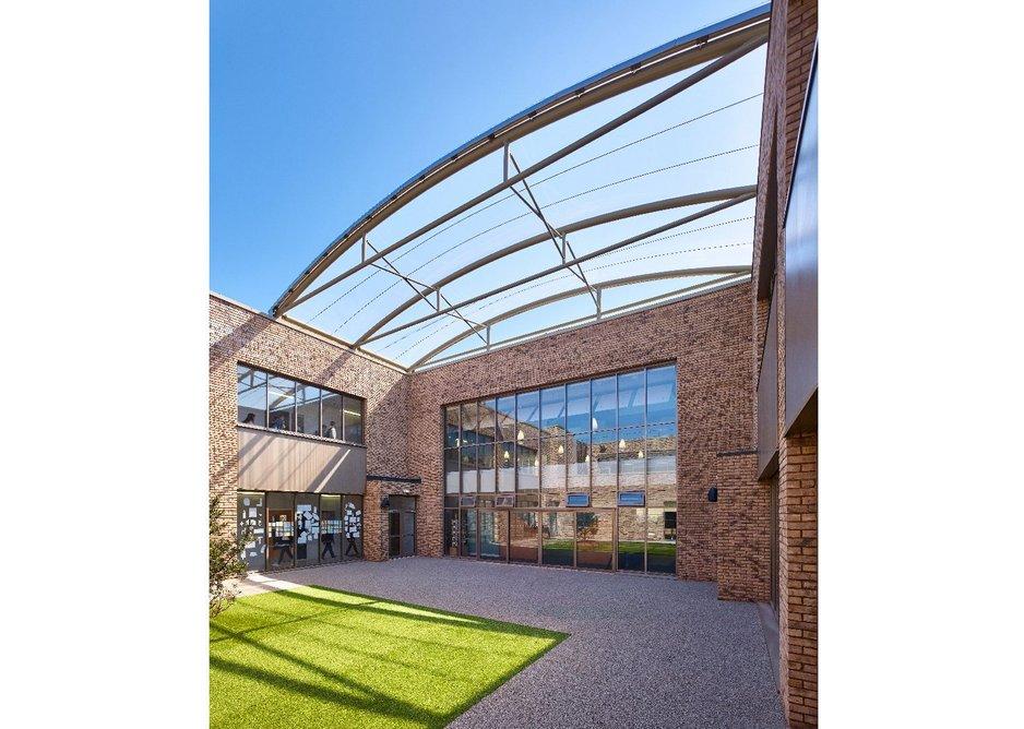 James Gillespie's Campus courtyard, jmarchitects.