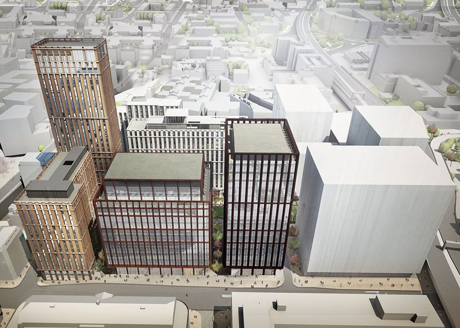 Charlotte Knight is running a two £100m office tower scheme on the Circle Square development in Manchester.