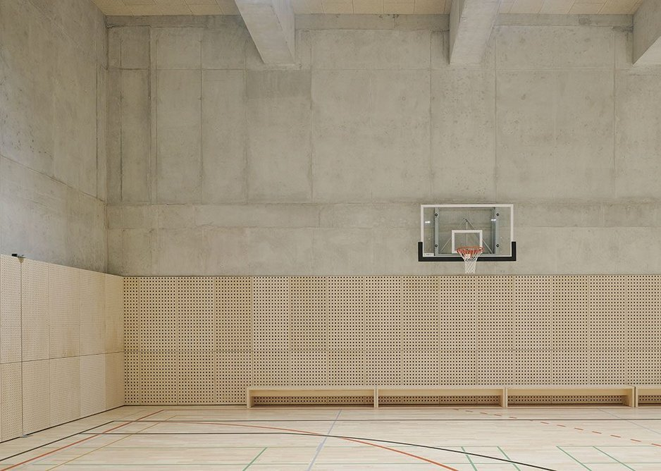 Even a multipurpose sports hall has been incorporated into the scheme to fulfil all aspects of physical and spiritual wellbeing.