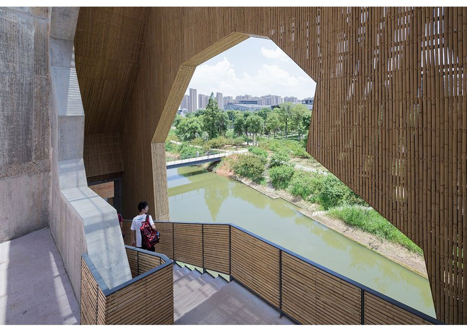 Wa Shan Guesthouse / China Academy of Art,  Xiangshan Campus, Hangzhou, 2013 by Amateur Architecture Studio.