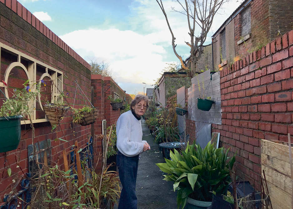 Below CLT member Hazel Tilley reveals the hidden alley garden catalysed by the Winter Garden but created by the whole terrace.