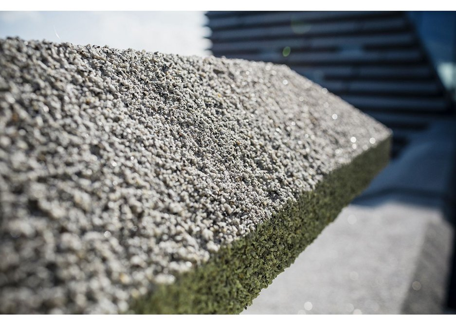 And we do mean rough, like roughcast cement or harling.
