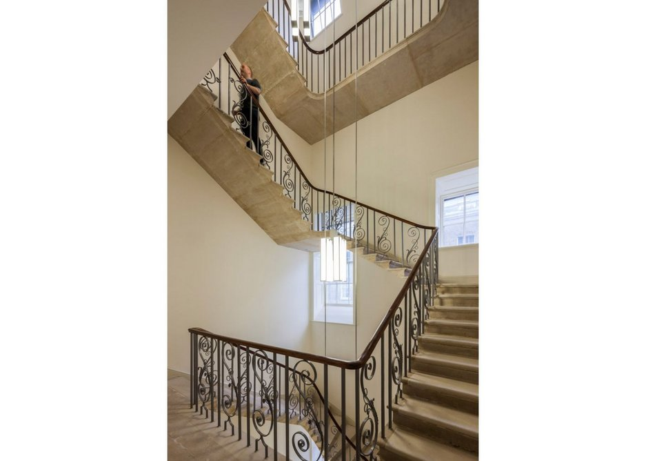 Somerset House Trust won the Michael Middleton Special Award, the restoration category, for its West Wing project.
