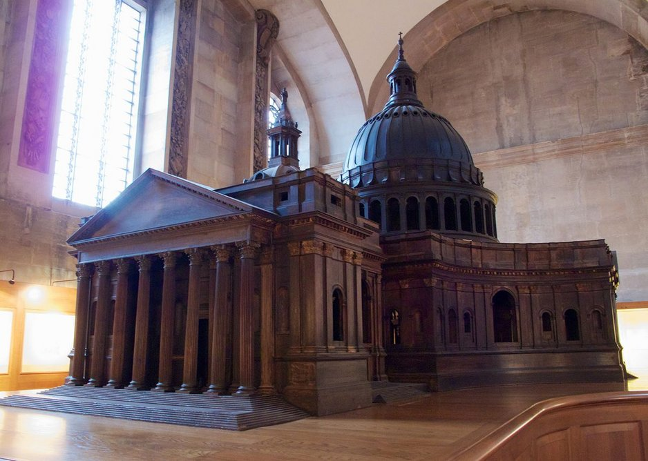 Wren's Great Model of St Paul's still delights visitors.