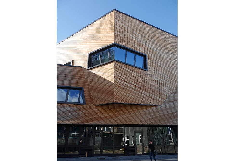 For Durham, a timber clad building is relatively rare.