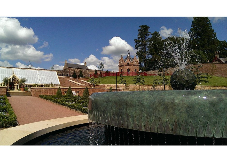 BEST OUTDOOR SPACE: The Belvedere Queen Elizabeth Walled Garden, East Ayreshire by Dovecot Architecture and Design