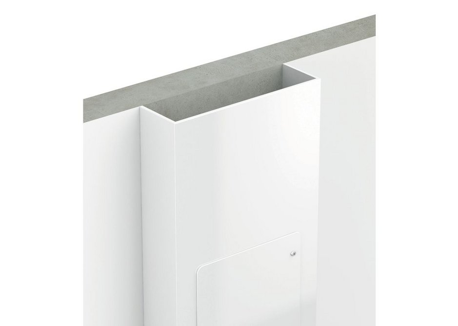Straight wall fitting