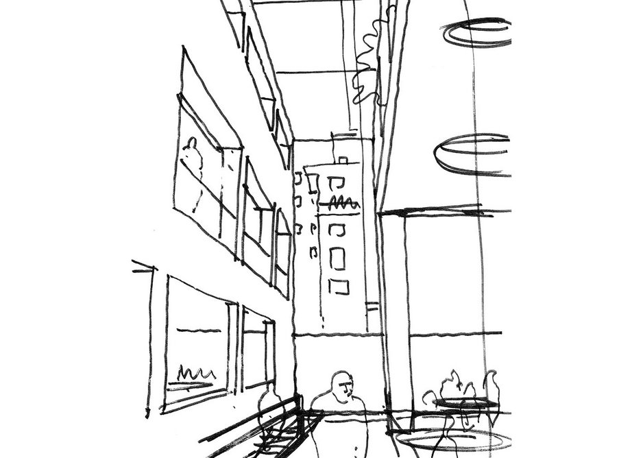 The sketch wot won it: looking back to the institute's 1934 headquarters at 66 Portland Place