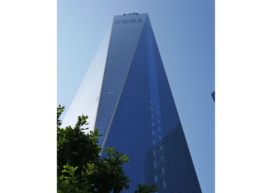The 1776-foot WTC tower by David Childs of SOM.