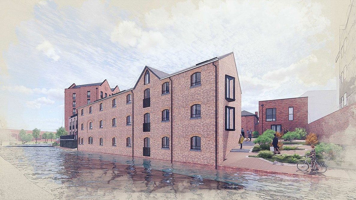 Planning in principle has been granted for Union Mill, Wolverhampton.