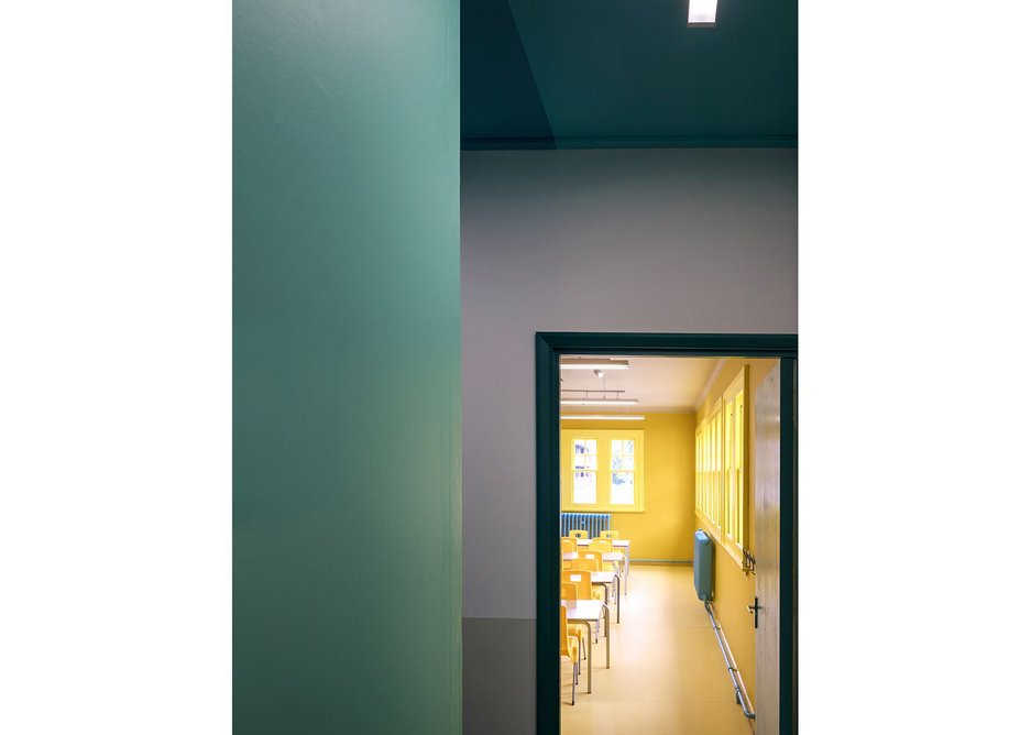 Soanian circulation from the dark corridor into the light of learning.