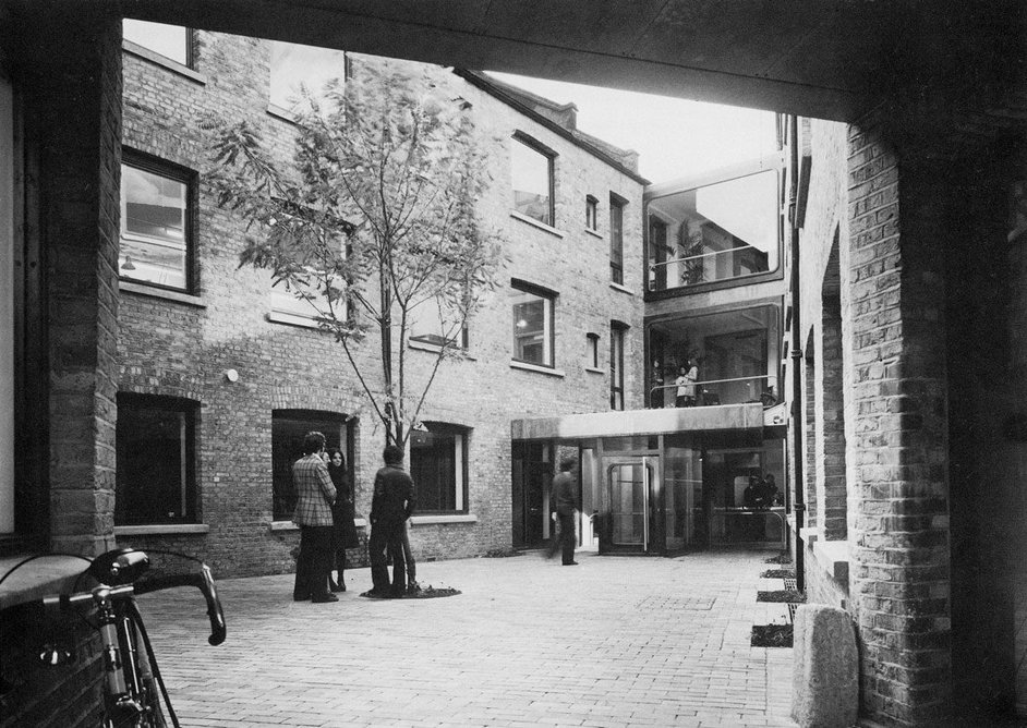 Sheppard Robson's conversion of a Camden piano factory to make its own headquarters was led by William Mullins.