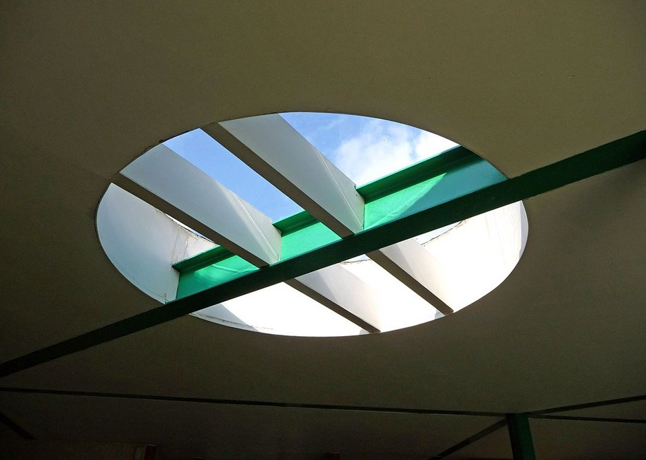 A very Cullinan rooflight detail.