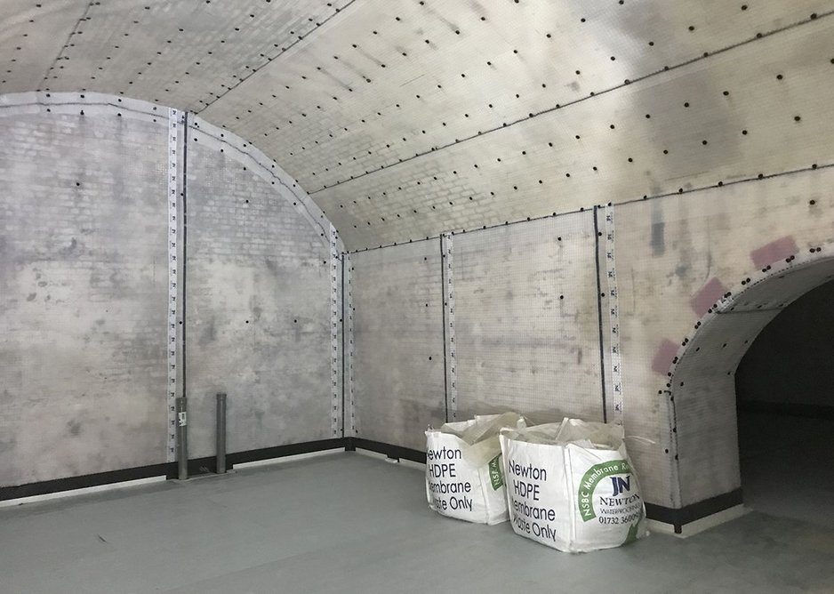 Stonehouse utilised Newton's Recycling Service for waste membrane.