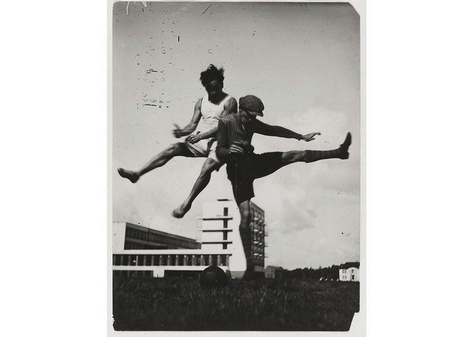Jump above the Bauhaus.