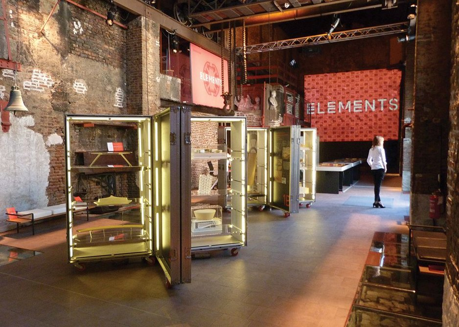 2014: Elements exhibition, Milan, Italy.