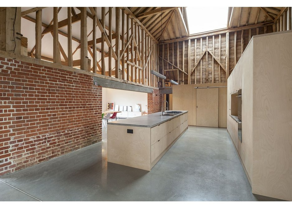 Flushglaze fixed rooflights have been installed at Church Barn, Norfolk, designed by David Nossiter Architects.