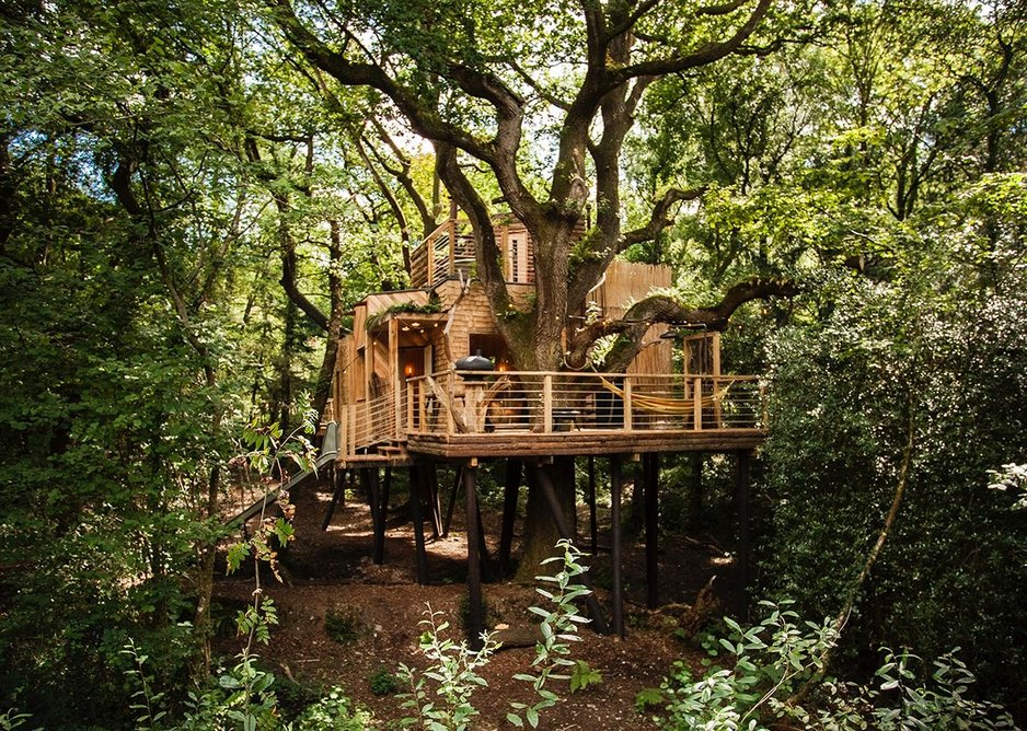 Woodsman's Treehouse, Holditch by Brownlie Ernst and Marks.