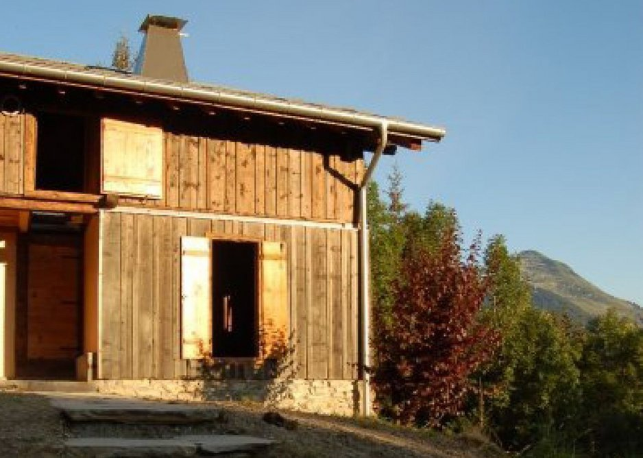 Agricultural barn renovation.