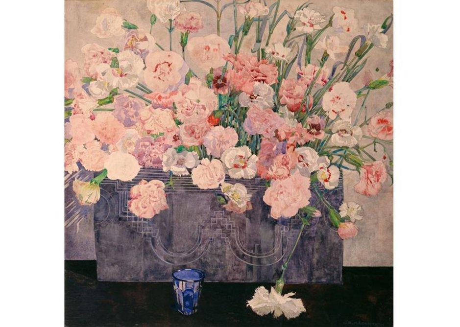 Charles Rennie Mackintosh, Pinks, date unknown.