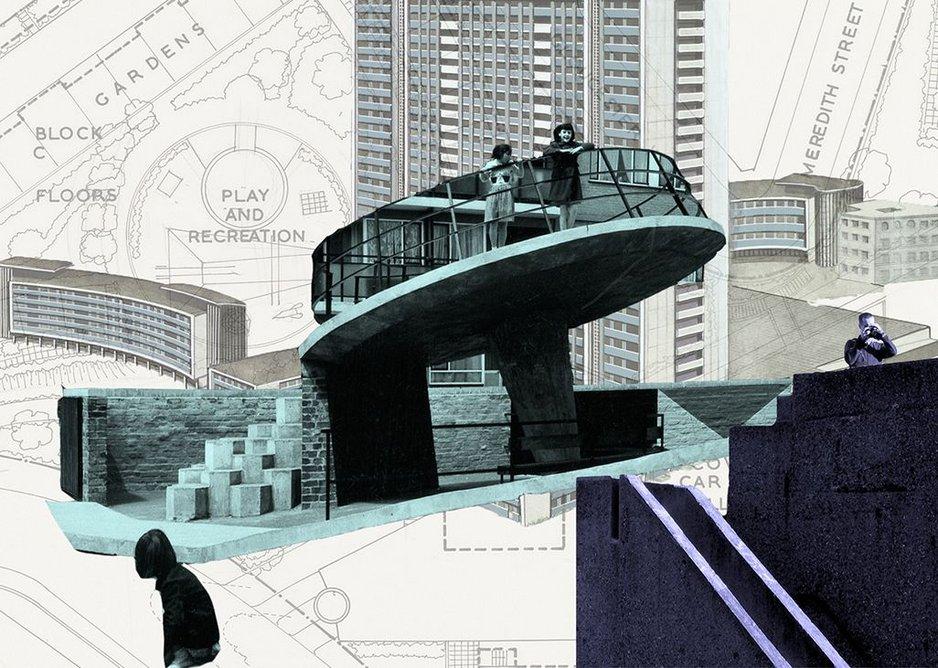 Three estates collage.