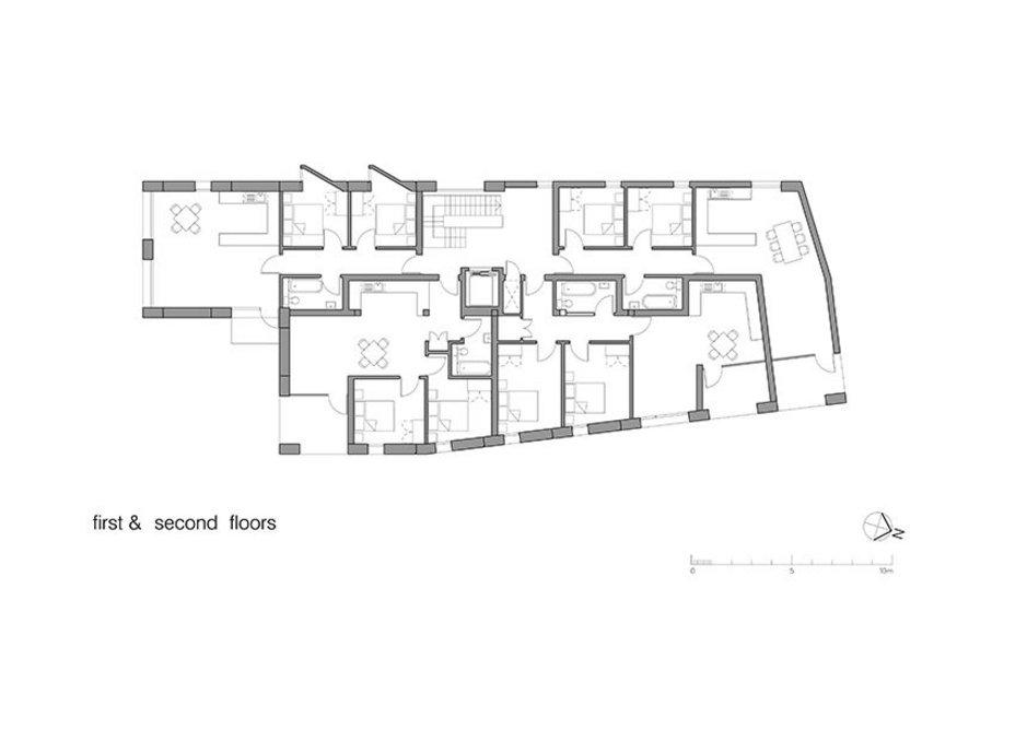 Floor plans - 1st & 2nd floor