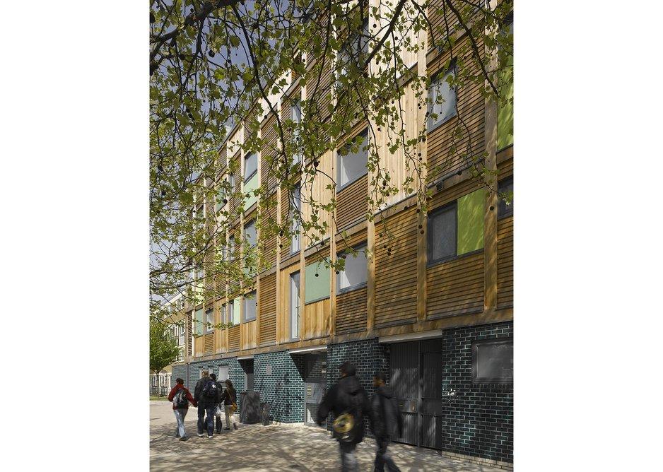 Wardroper House, London, 2010 by Sarah Wigglesworth Architects.