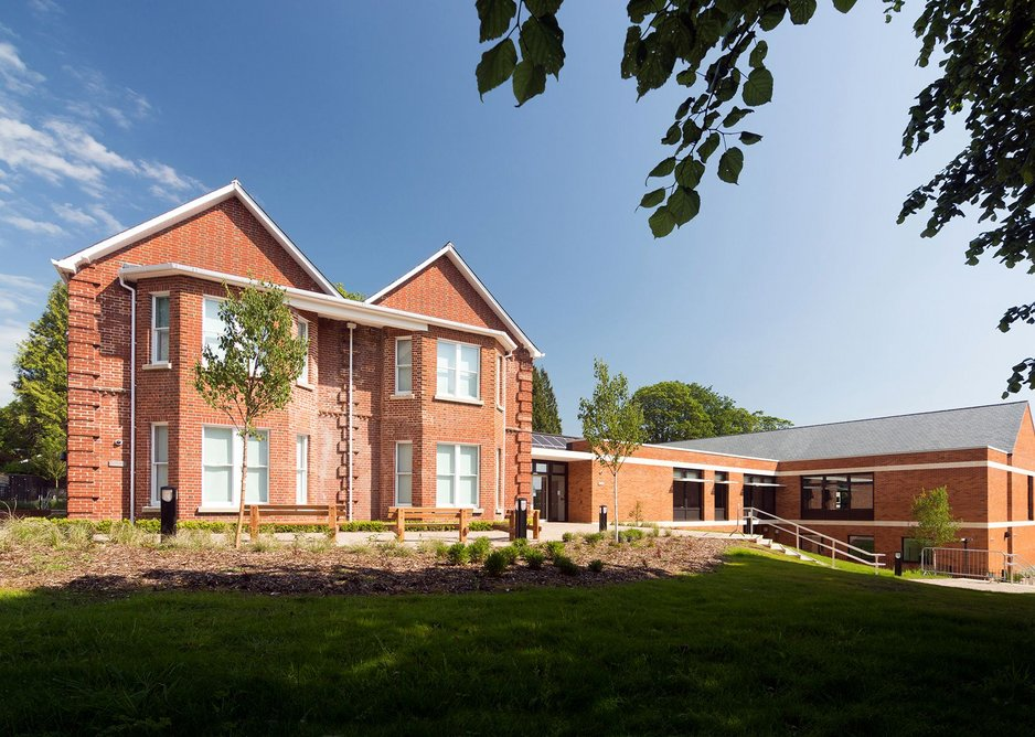 The Westgate School by Hampshire County Council Architects