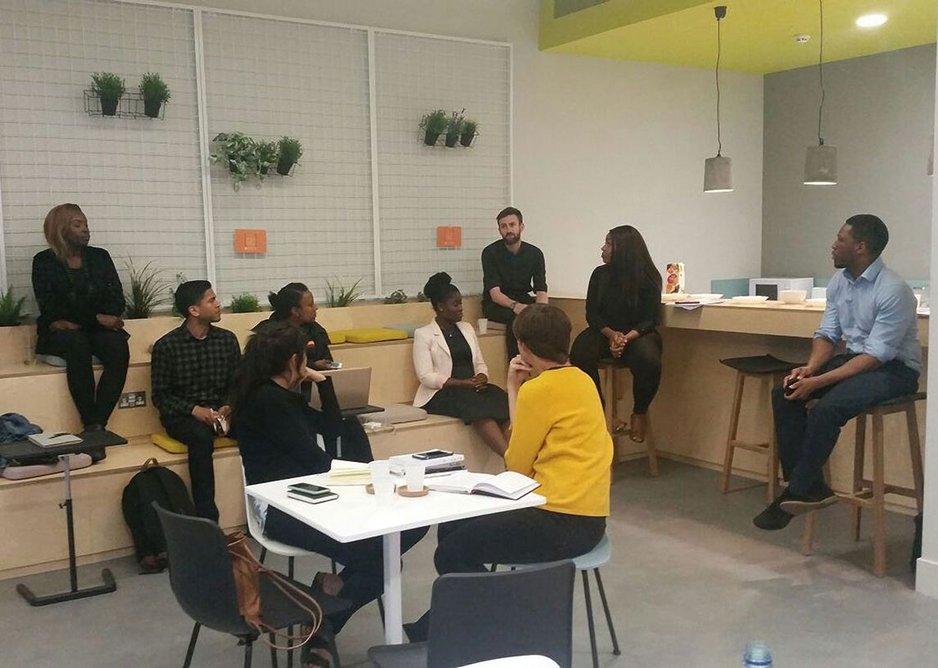 Mindfulness workshop at Assael.