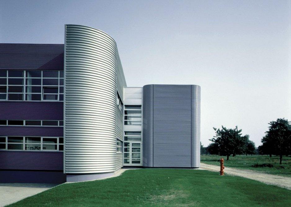 Vitra Furniture Factory, Weil am Rhein, Germany.