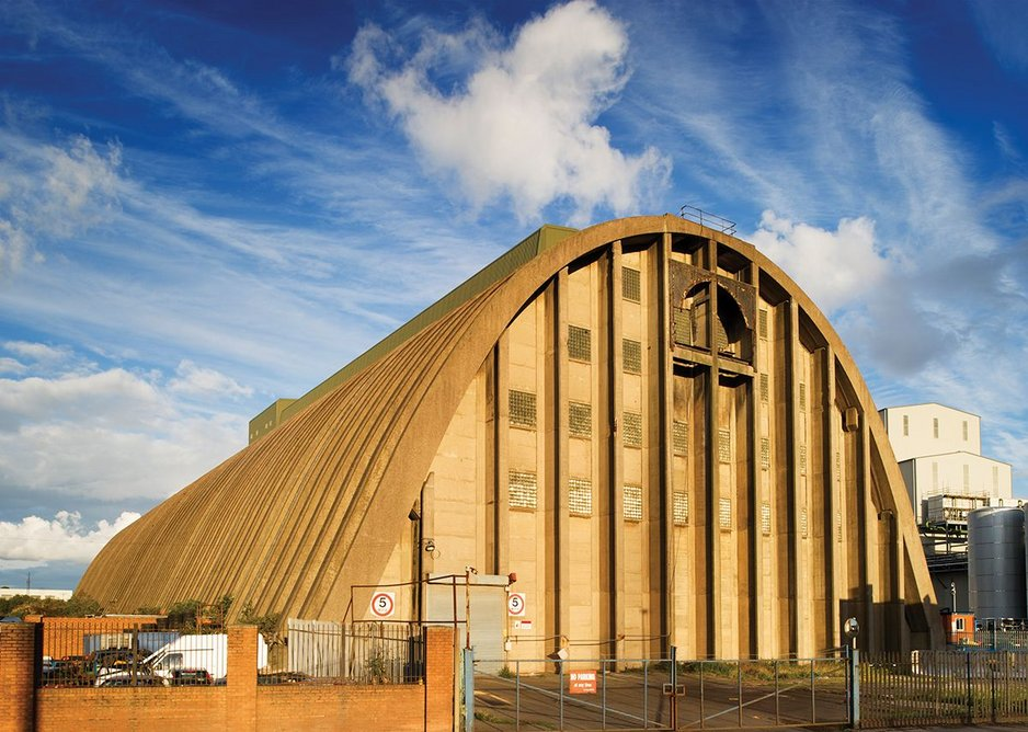 Brutal but sweet: the Liverpool Sugar Silo by Tate and Lyle engineers, 1955-7.