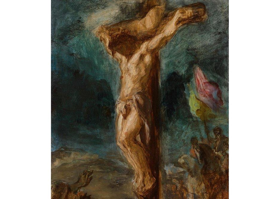 Eugene Delacroix, Crucifixion, 1846.