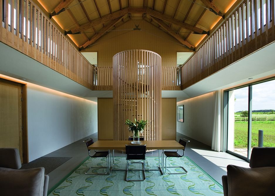 The Long House in Norfolk by Hopkins Architects