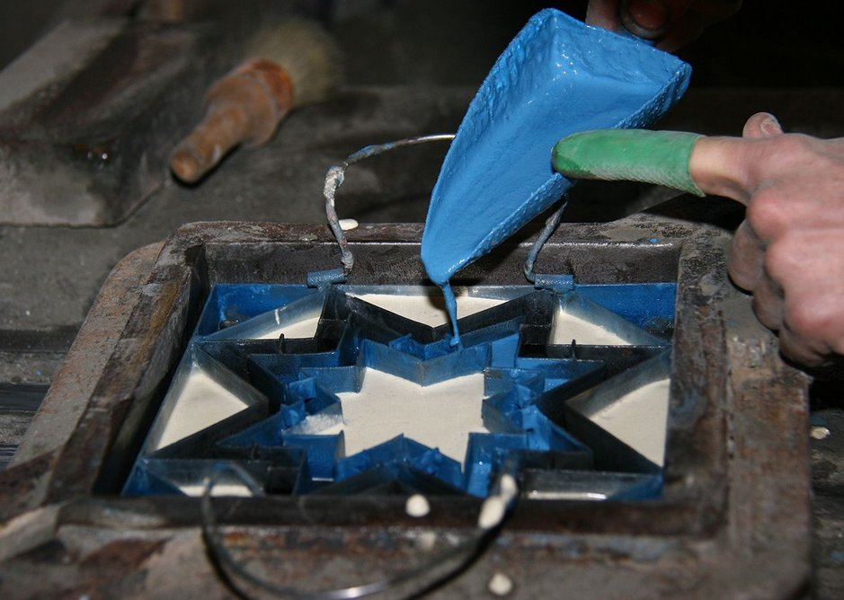 The tile manufacturing process 2.