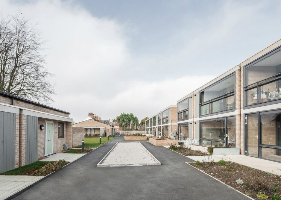 Beech Gardens, Ludlow, provides 26 apartments for older people.