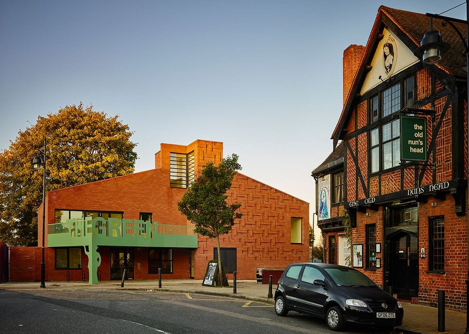 Beazley Designs of the Year. Architecture section nominee The Green by AOC.