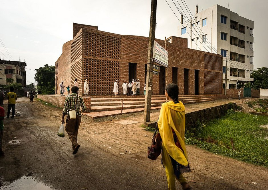 The mosque is on a site donated by Tabassum's grandmother.