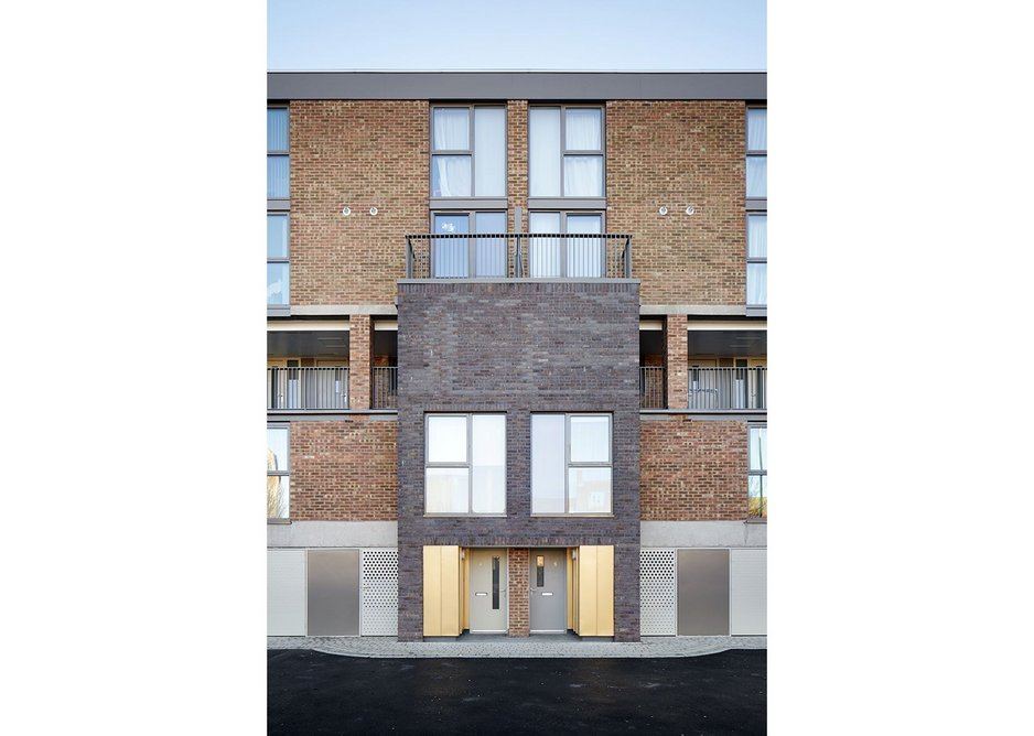 Mae's Hillington Square: a major reworking with additions.