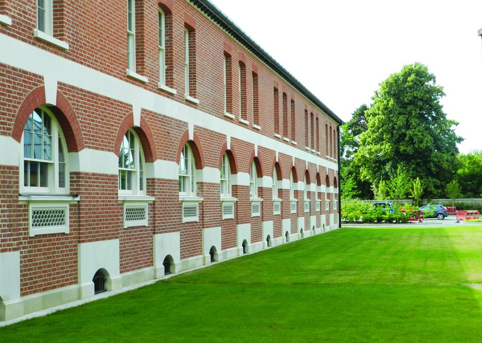 Best Craftsmanship Award: Eton College, John Simpson Architects