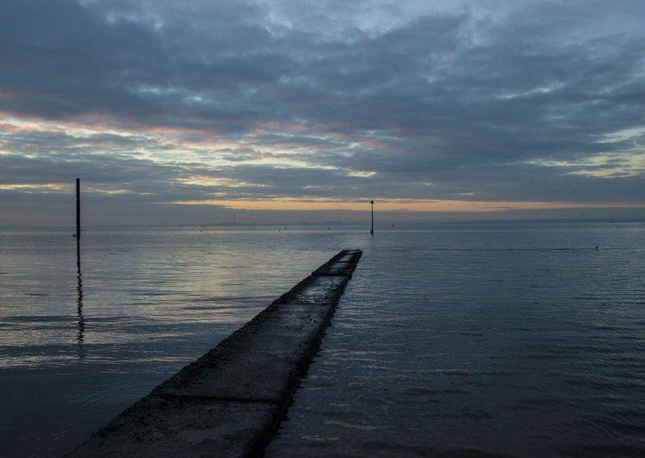 Estuary view.
