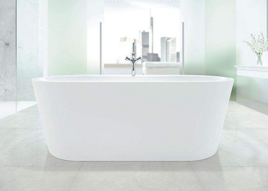 All Meisterstück baths come with Kaldewei's easy-clean surface finish as standard.