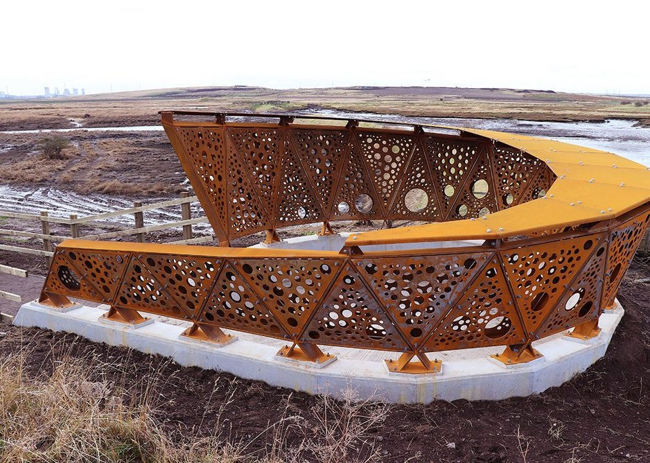 Greatham Creek Seal Hide by Nick Tyrer and Abstract Machines.
