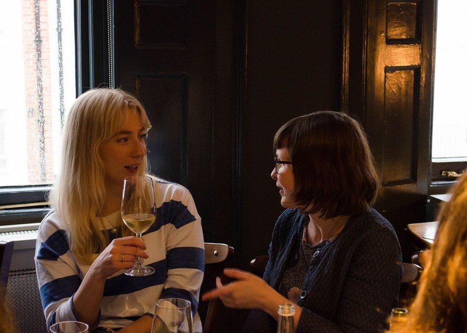 Angharad Palmer and Úna Breathnach-Hifearnáin.