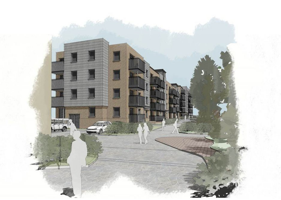 Ebbsfleet Garden City housing by Lee Evans Partnership