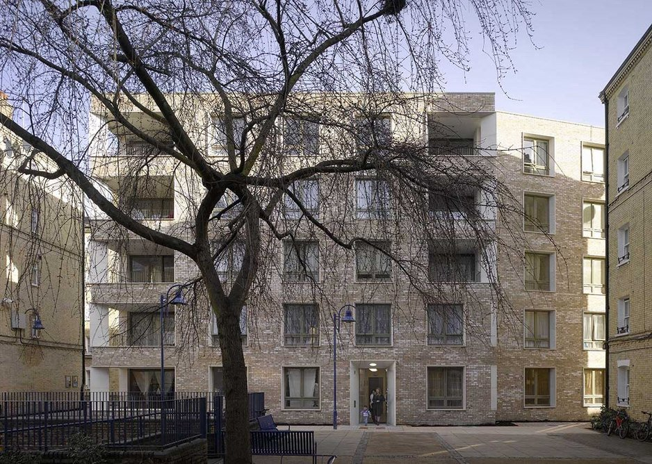 BEST HOUSING DESIGN AWARD: Darbishire Place, Peabody, London by Níall McLaughlin Architects