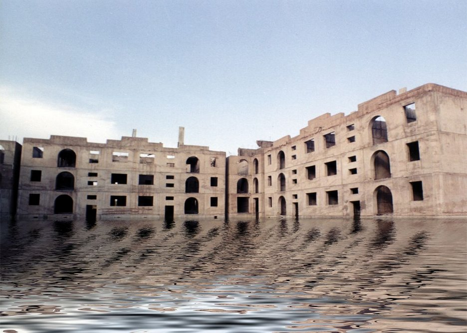 Vahram Agasian, from the Ghost City Series 1, 2005-2007, manipulated photo