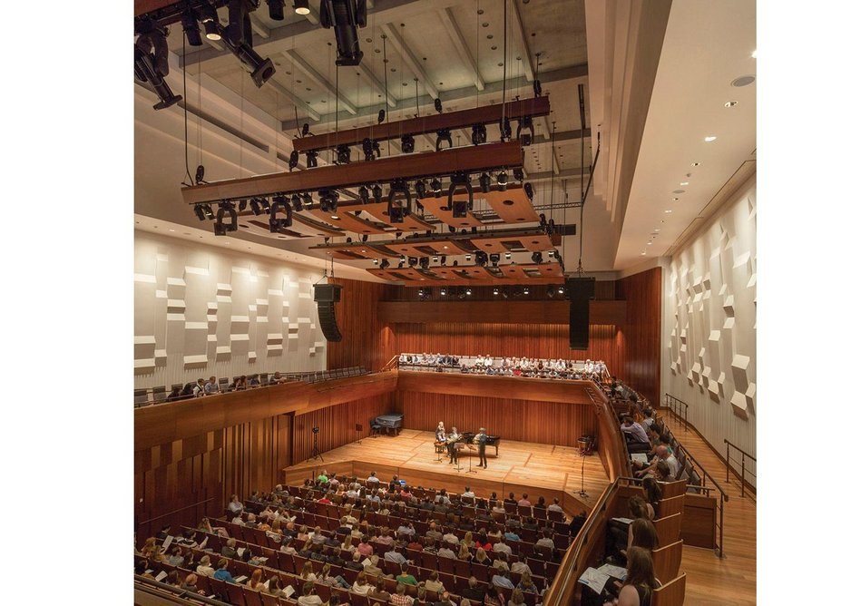 Milton Court, Guildhall School of Music,  London. RHWL Architects.