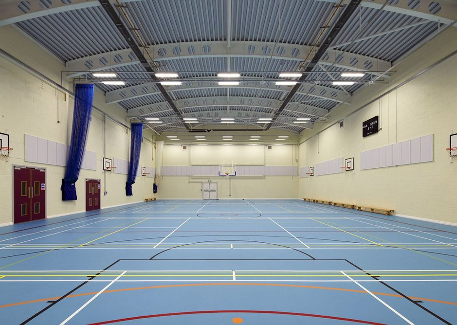 Corelli College: ROCKFON Samson wall absorbers deliver exceptional acoustic comfort
