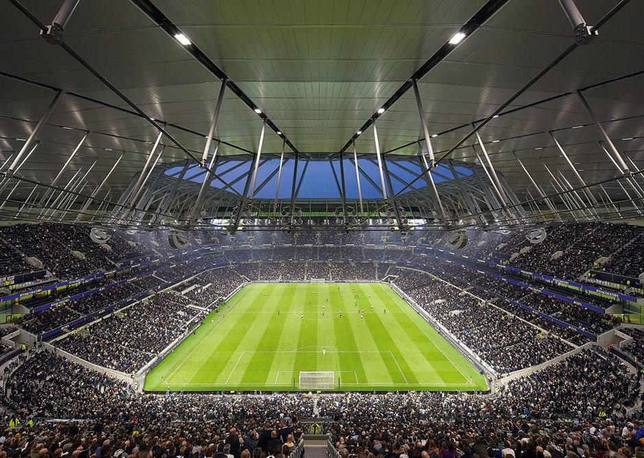 Despite the size of the stadium, its steep rake and enclosing roof structure create a genuine sense of intimacy.